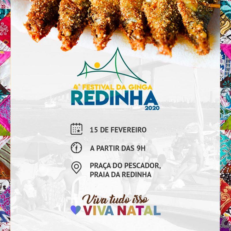 Prefeitura promove 4º Festival da Ginga na Redinha no próximo sábado