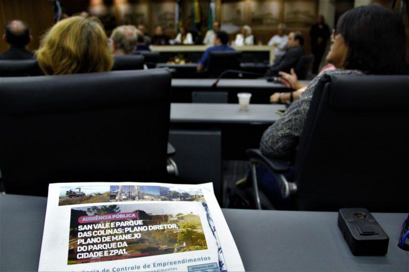 Câmara debate sugestões de mudanças no Plano de Manejo do Parque da Cidade