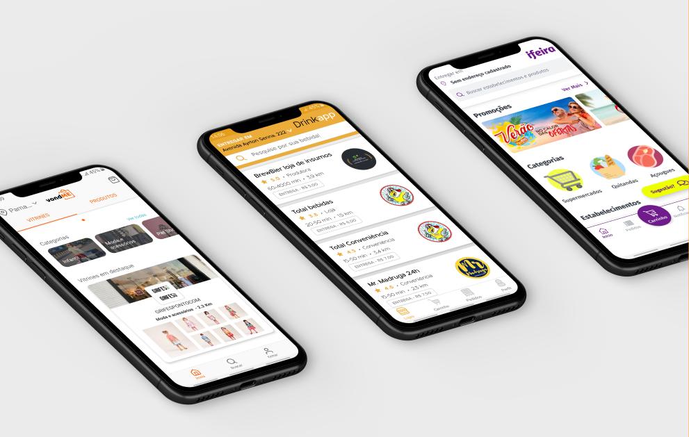 Startups do IMD oferecem aplicativos de entrega para consumidores e comerciantes superarem quarentena sem riscos