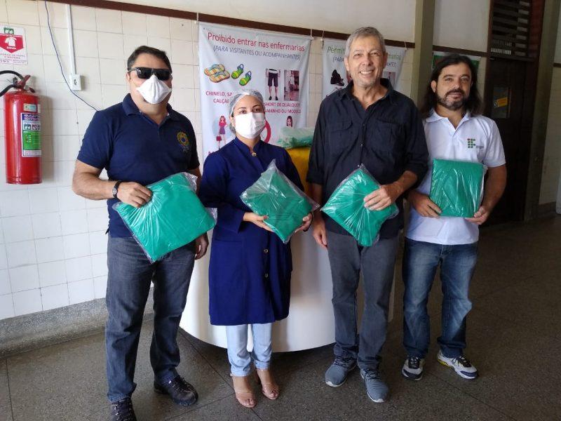 Campus Caicó produz capotes hospitalares em ação de combate à pandemia