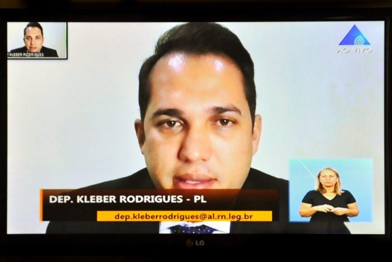 Deputado Kleber Rodrigues comenta flexibilização da quarentena no RN