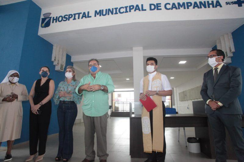 Prefeitura abre Hospital de Campanha de Natal