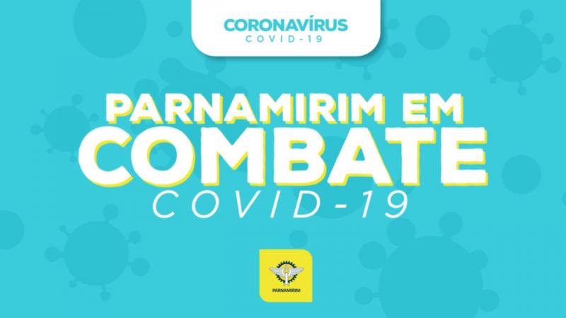 Taxa de pacientes curados da Covid-19 em Parnamirim sobe para 45%