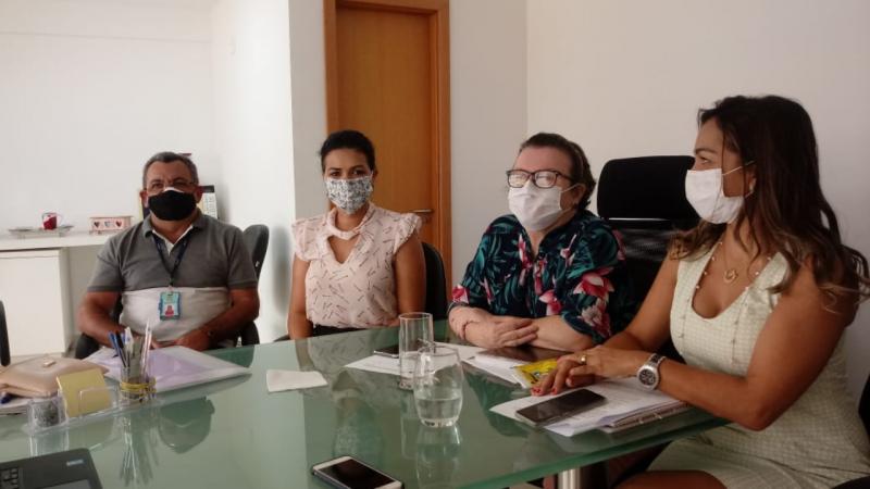 Comitê de Enfrentamento à Covid-19 realiza reunião virtual: situação de Parnamirim