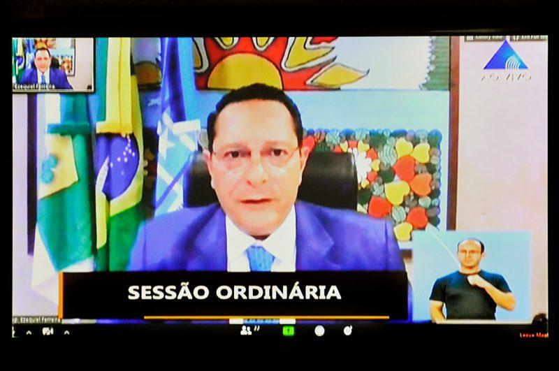 Deputado Ezequiel Ferreira solicita ações de segurança para o RN no combate à criminalidade