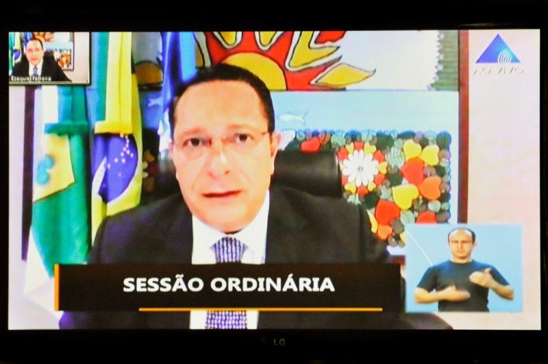 Deputado Ezequiel Ferreira solicita isenção da conta de água para famílias rurais