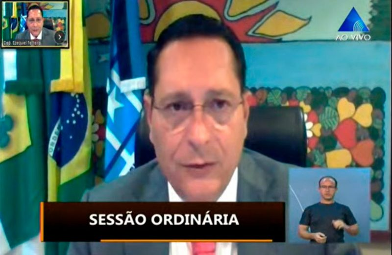 Deputado Ezequiel Ferreira anuncia suspensão do recesso parlamentar de julho em razão do coronavírus