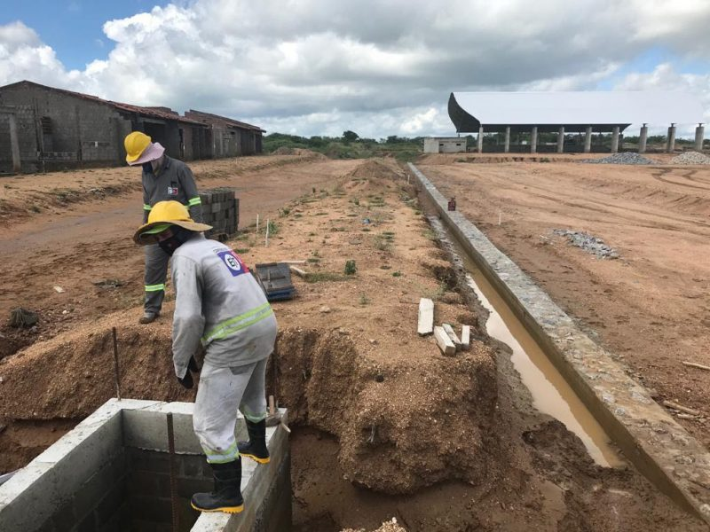 Semarh supervisiona retomada das obras no Complexo de Oiticica