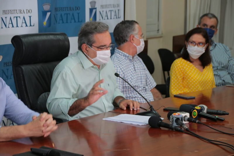 Prefeitura de Natal autoriza reabertura gradual do comércio e anuncia Centro de Tratamento na Zona Norte