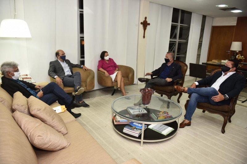 Deputado Ezequiel debate políticas públicas com ministro Rogério Marinho e governadora Fátima
