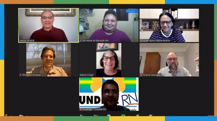 Jornada pedagógica discute educação da rede estadual durante a pandemia