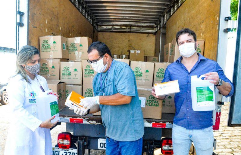 Doação de EPIs da ALRN reabastece Hospital Municipal e 16 UBS em Touros