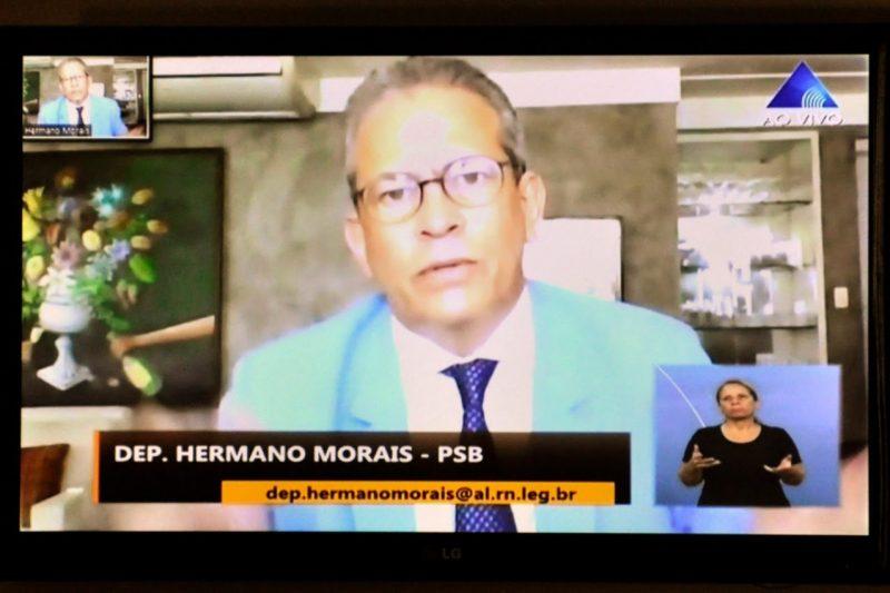 Deputado Hermano Morais cobra agilidade na entrega de kits alimentares a estudantes da rede pública