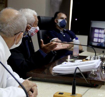 Vereadores apreciam relatório quadrimestral da SMS na Comissão de Saúde