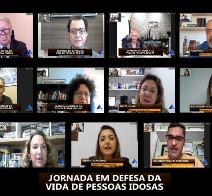Frente Parlamentar da ALRN realiza Jornada Online em Defesa da Vida de Pessoas Idosas