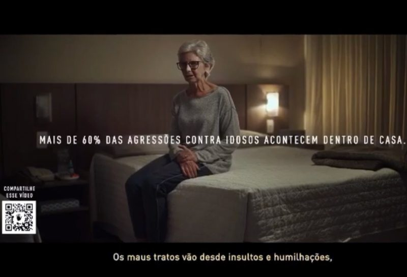Campanha da Assembleia Legislativa alerta para violência contra idoso