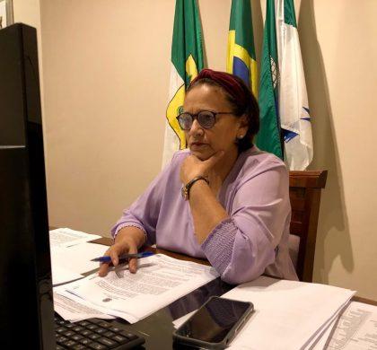 No Dia Nacional dos Profissionais da Educação, governadora discute Novo Fundeb com senadores