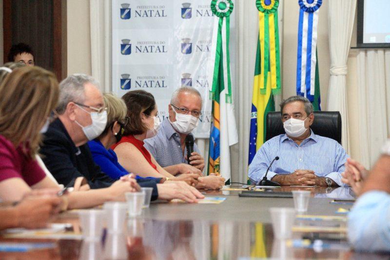 Campanha Setembro Dourado é lançada no Palácio Felipe Camarão