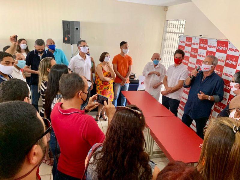PSB de Natal homologa 40 candidaturas a vereador e decide por composição com partidos de oposição