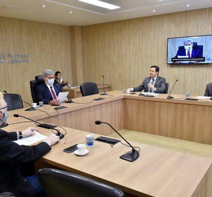 Comissão de Finanças aprova projetos para economia e segurança do RN