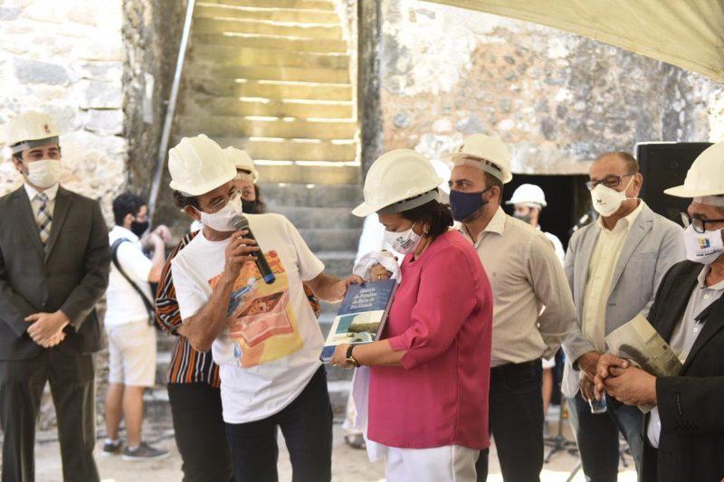 Governo autoriza reinício das obras de recuperação do Forte dos Reis Magos