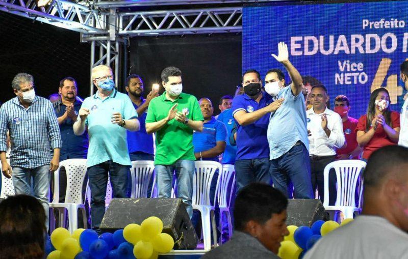 Na Grande Natal, Ezequiel participa de mobilização do PSDB em Extremoz e de comício em Maxaranguape